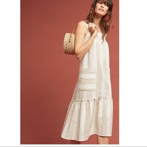 ANTHROPOLOGIE Tonal Striped Dress
